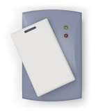 RFID reader with RFID card