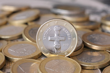 Euro-Münze Zypern, Cyprus