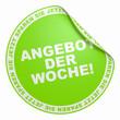 3D Aufkleber Hellgrün - Angebot der Woche!