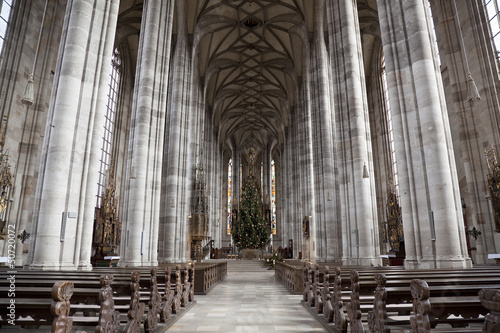 St. Pauls Church, Dinkensbuhl. Bavaria, Germany