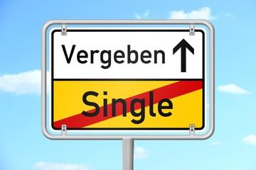 ortsschild v3 himmel single vergeben I