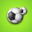 Soccer Ball Background.
