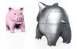 A stranger pig piggy