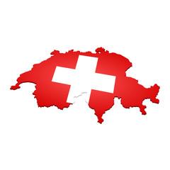 landkarte schweiz III