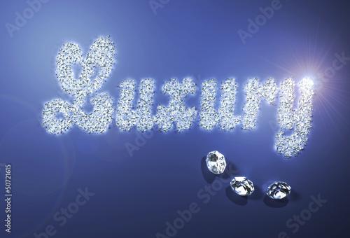 Luxury with diamonds