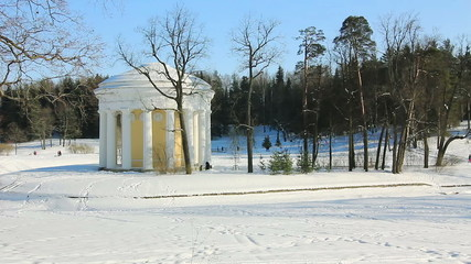 Temple of Friendship in Pavlovsk, St. Petersburg, Russia