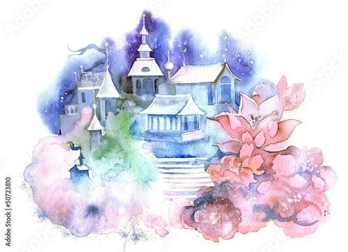 Papiers peints Chateau architecture