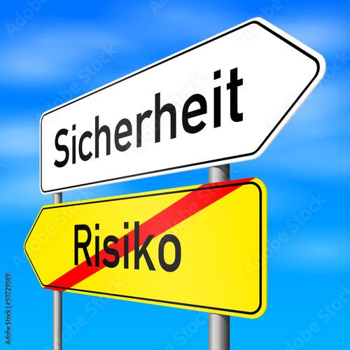 schild lr sicherheit risiko I