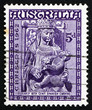 Postage stamp Australia 1962 Madona and Child, Christmas