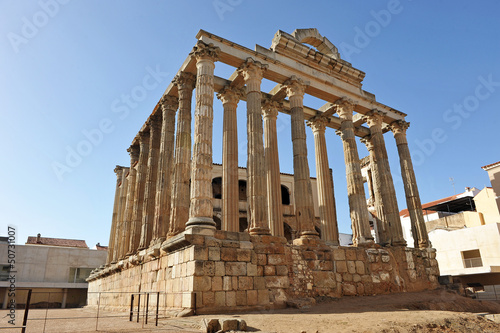 Roman temple of Diana, Merida, Spain