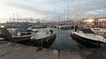 trieste touristic harbor