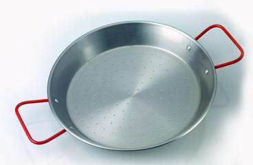 plat à paella vide