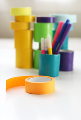 Colorful Craft and Duct Tape