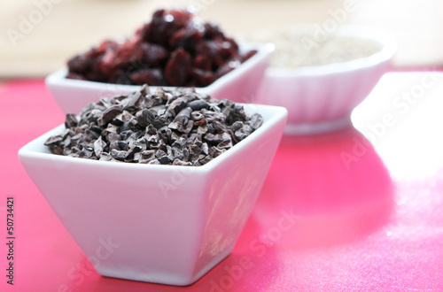 Chocolate and Cranberries