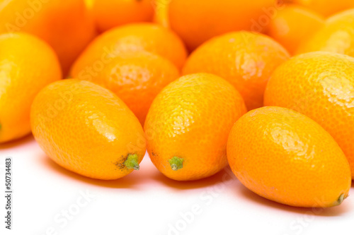 Heap Kumquat fruit (Fortunella)
