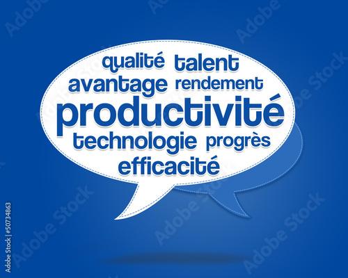productivité - travail à la chaine