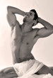 Hombre joven posando