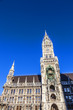 City hall of Munich at the Marienplatz