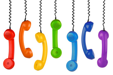 retro handset row