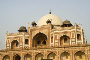 Closer view of Humayun's Tomb