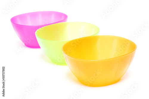 colorful plastic bowl - dish wear