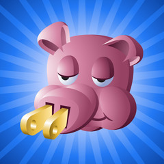 Power Piggy: Environmental Apathy Award