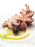 An octopus dish for the real gourmets