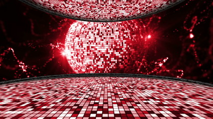 Disco Room and Ball - HD1080