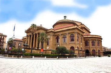 Palermo. Teatro Massimo