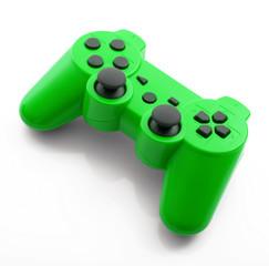 joystick verde