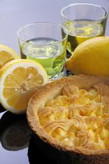 Torta al limone co liquore