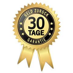 Siegel - 30 Tage Geld zurück Garantie