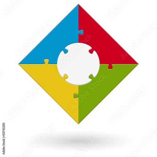 Puzzle - Quadrat