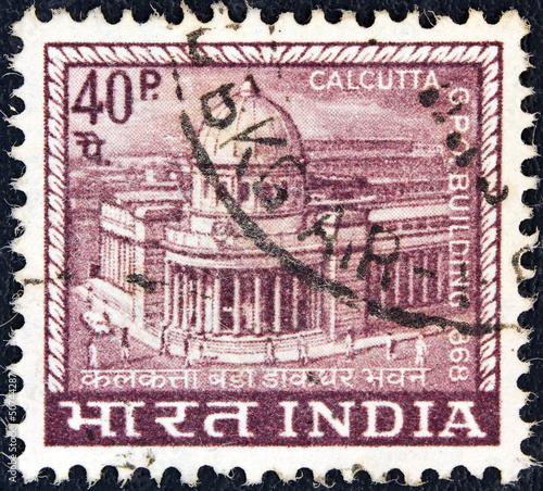 Calcutta G.P.O. (General Post Office) (India 1968)