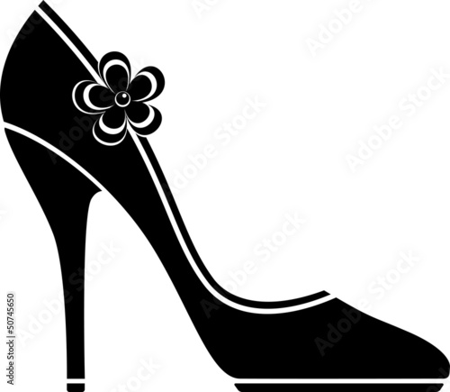 High heel shoes (silhouette)