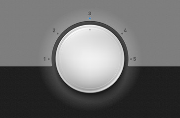Volume knob or changer