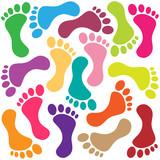 Fototapety Footprint