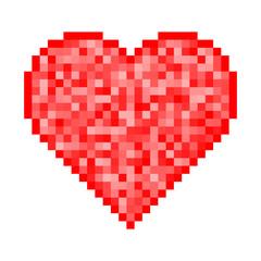 Heart Pixel Icon