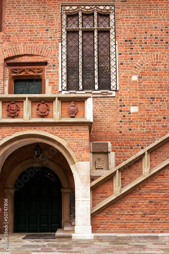 Collegium Maius in Jagiellonian University,  Krakow