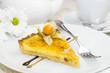 Пирог лимонный с корицей