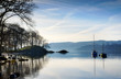 Morning sunlight on Lake Windermere