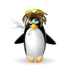 pinguino rasta