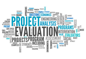 "Word Cloud ""Project Evaluation"""