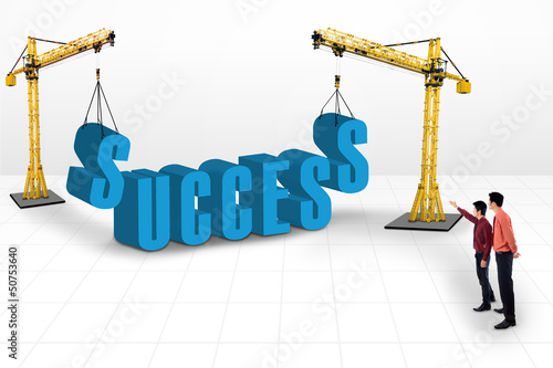 Building success concept
