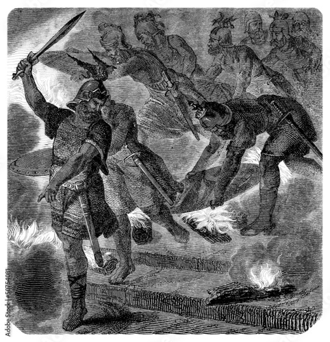 Ancient Nordic/Germanic Warriors