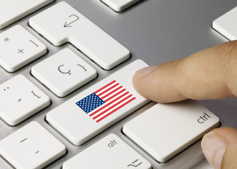 Flag of USA keyboard