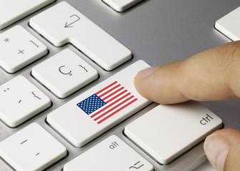 Flag of USA keyboard