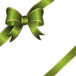 geschenkschleife, dekoschleife, schleife, grün, ostern, vektor,