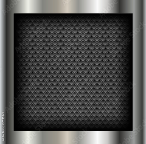 Abstract background metallic with holes pattern