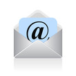Vector email symbol